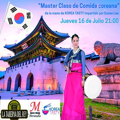 Master Class de Comida Coreana (el día 16 de junio) en Villanueva de la Jara
