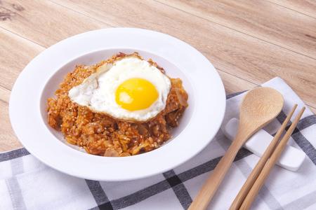 "Receta coreana ""Arroz frito con Kimchi"" (VÍDEO)"